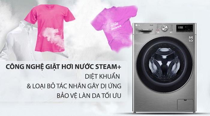 Máy giặt sấy LG lồng ngang 9 Kg Inverter FV1409G4V