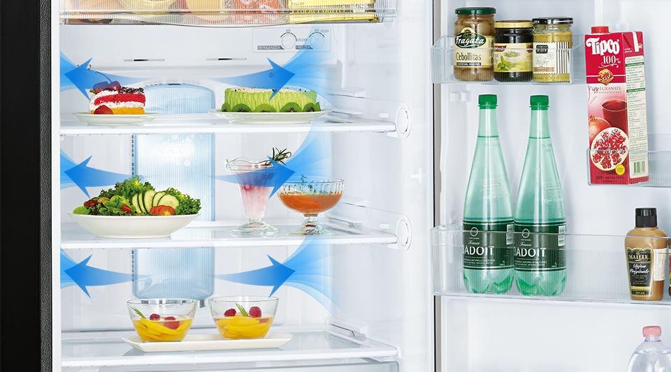 Tủ lạnh Mitsubishi 243 Lít 2 cửa Inverter MR-FC29EP-OB-V