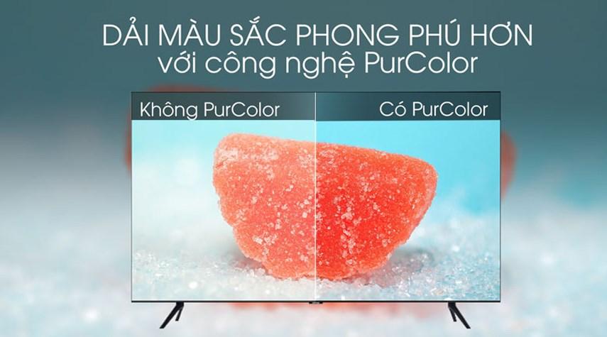 Smart Tivi 4K Samsung 55inch UA55TU8100 giá rẻ