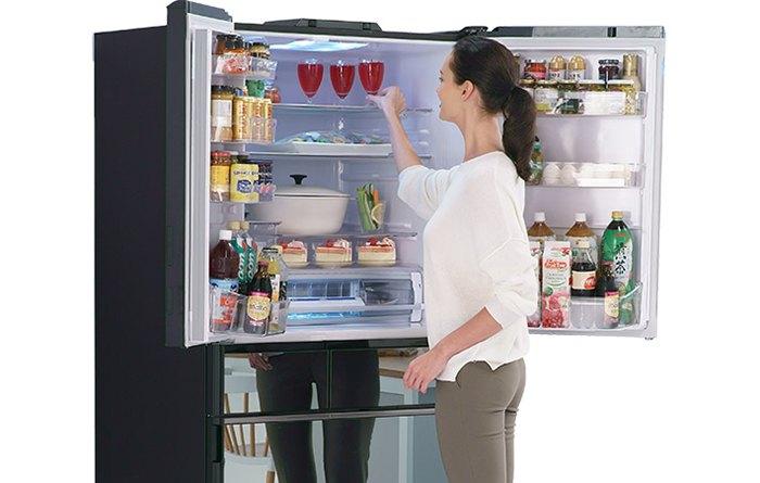Tủ lạnh Hitachi 6 cửa Inverter 735 Lít R-ZX740KV