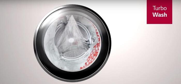 Máy giặt LG 9 kg lồng ngang inverter FC1409S2E tốc độ vắt