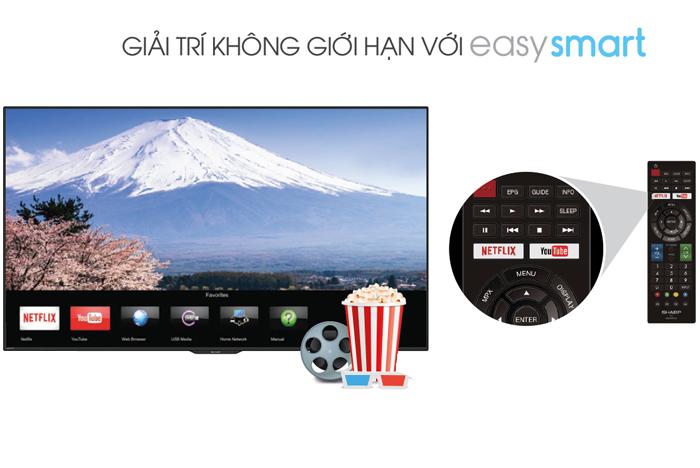 Smart Tivi Sharp 40 inch LC-40SA5500X, Full HD giá rẻ