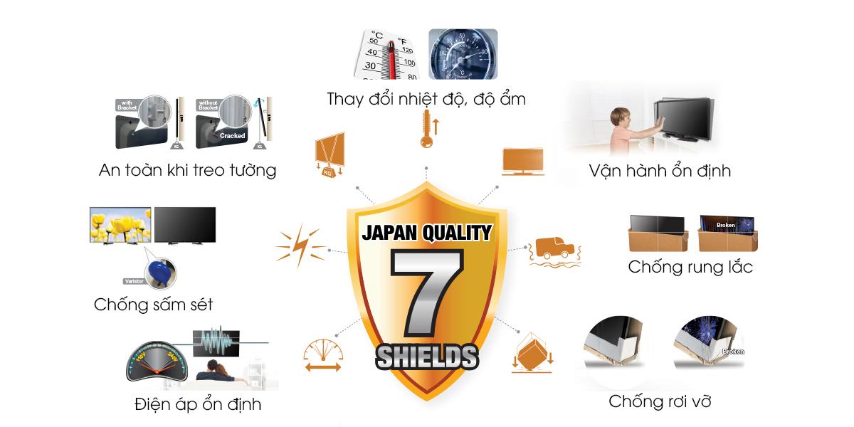 Smart Tivi Sharp 40 inch LC-40SA5500X, Full HD chính hãng giá rẻ
