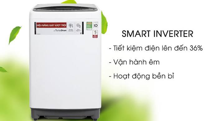 Máy giặt LG Inverter 8.5 kg T2385VS2W inverter