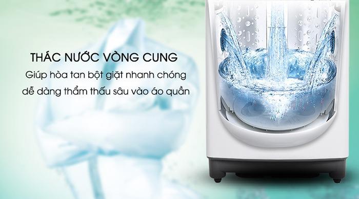 Máy giặt LG Inverter 8.5 kg T2385VS2W nước xoáy mạnh