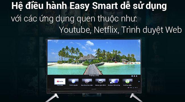 Smart Tivi Sharp HD LC-32SA4500X 32 inch