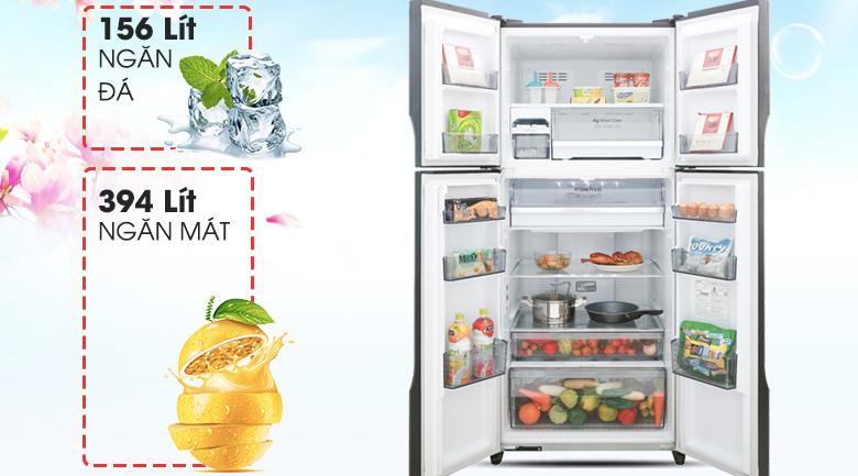 Tủ lạnh Panasonic Inverter 550lit NR-DZ600GKVN