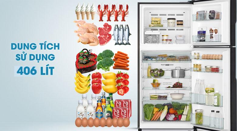 Tủ lạnh Hitachi Inverter 406 lít R-FG510PGV8(GBW)