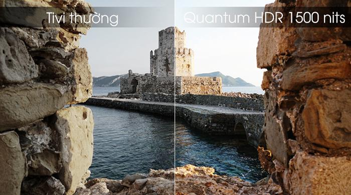 Tivi Samsung Smart Qled 4K 55 inch QA55Q80R màu sắc chân thực