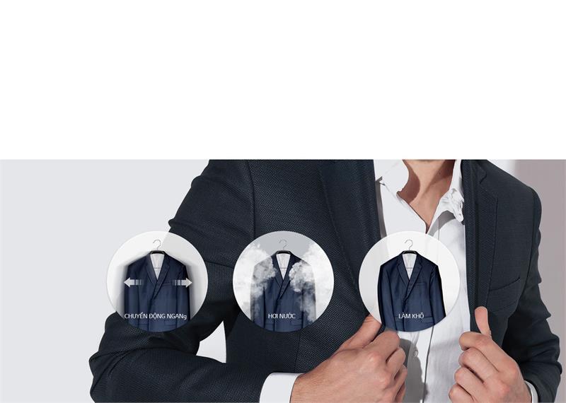 Tủ chăm sóc quần áo LG S3RF chính hãng