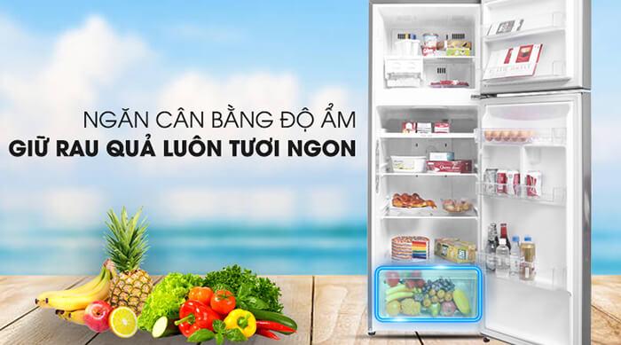 Tủ lạnh LG Inverter 315 lít GN-M315PS cân bằng độ ẩm
