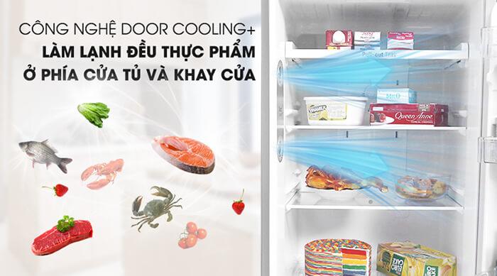 Tủ lạnh LG Inverter 315 lít GN-M315PS công nghệ doorling