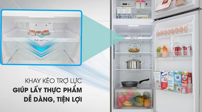 Tủ lạnh LG Inverter 315 lít GN-M315PS dễ sử dụng