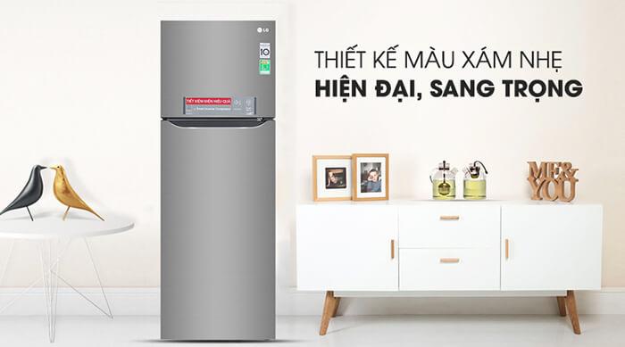 Tủ lạnh LG Inverter 315 lít GN-M315PS hiện đại
