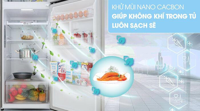 Tủ lạnh LG Inverter 315 lít GN-M315PS khử mùi