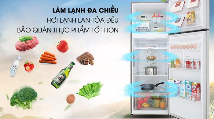 Tủ lạnh LG Inverter 315 lít GN-M315PS làm lạnh
