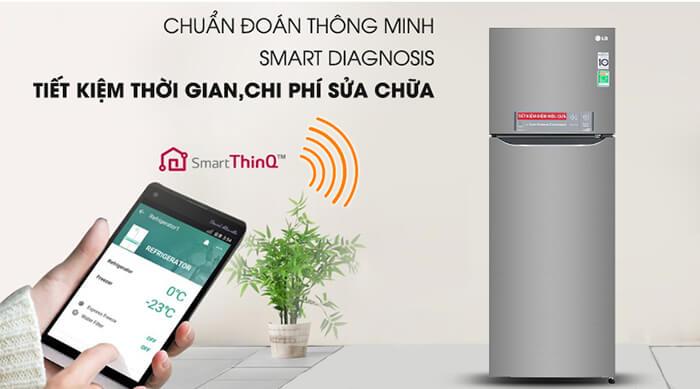 Tủ lạnh LG Inverter 315 lít GN-M315PS smart