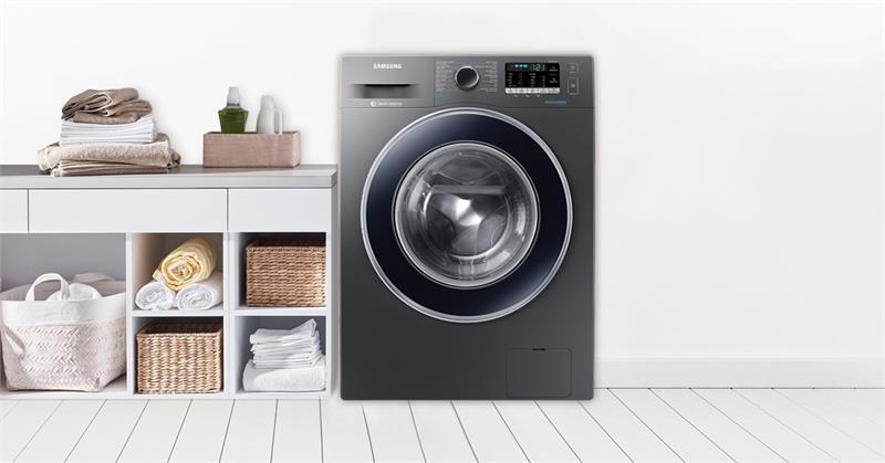 Máy giặt 9 Kg Samsung WW90J54E0BX/SV hơi nước cao cấp
