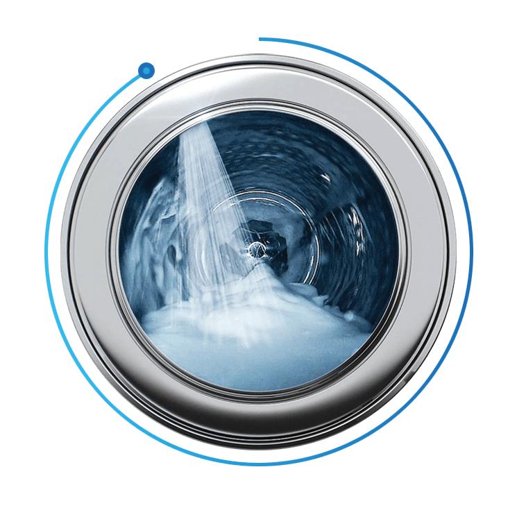 Máy giặt 9 Kg Samsung WW90J54E0BX/SV hơi nước siêu tốc