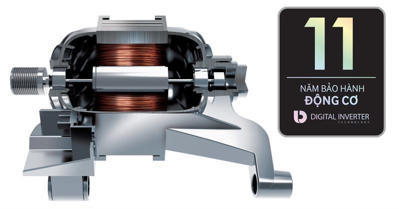 Máy giặt 9 Kg Samsung WW90J54E0BX/SV hơi nước inverter