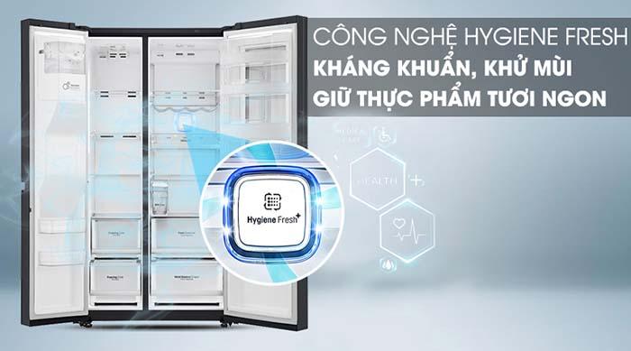 Tủ lạnh LG 601 lít inverter GR-X247MC kháng khuẩn