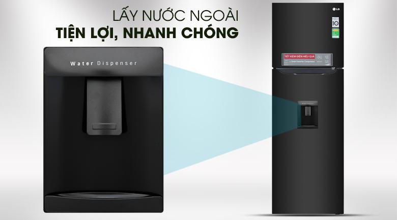 Tủ lạnh LG 255 lít Inverter GN-D255BL