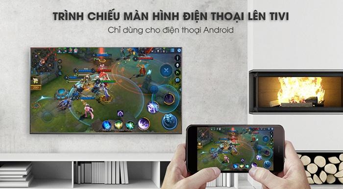 Tivi LG Smart Full HD 43 inch 43LK571C trình chiếu điện thoại