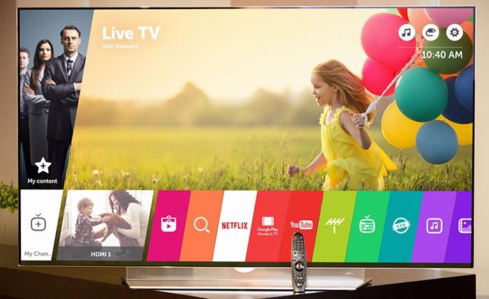 Tivi LG Smart Full HD 43 inch 43LK571C đa ứng dụng