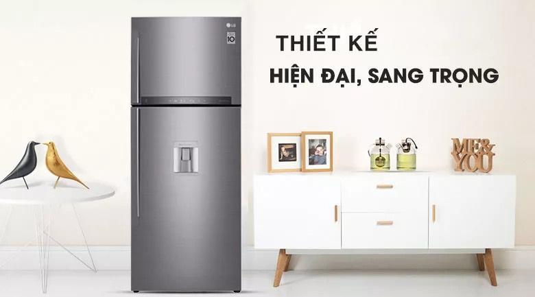 Tủ lạnh LG 440 lít inverter GN-D440PSA