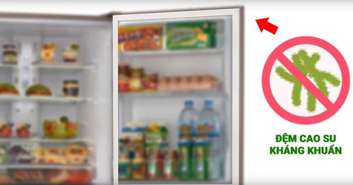 Tủ lạnh Mitsubishi 272 lít inverter MR-CX35EM-BRWV kháng khuẩn