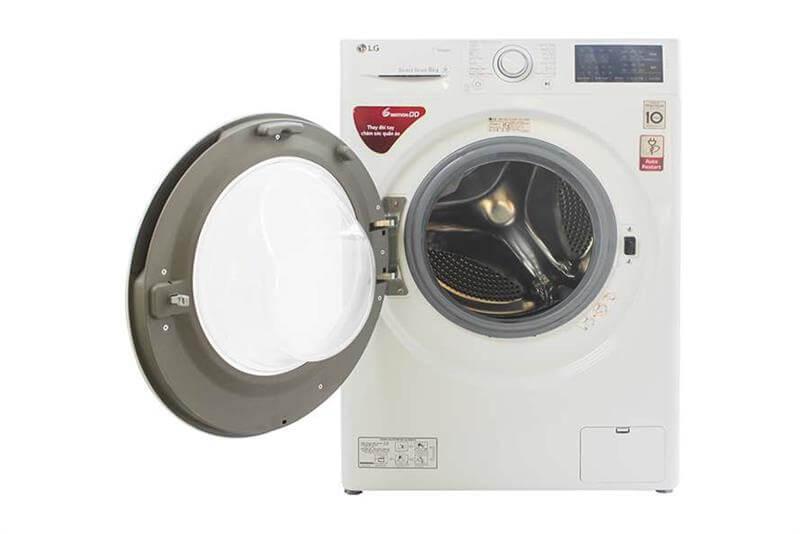 Máy giặt lồng ngang LG 8kg FM1208N6W khối lượng giặt