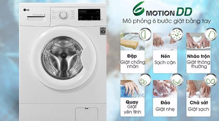 Máy giặt LG Inverter 9 kg FM1209N6W chính hãng