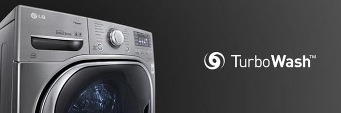 Máy giặt sấy LG 14 kg F2514DTGW - màu trắng hiện đại