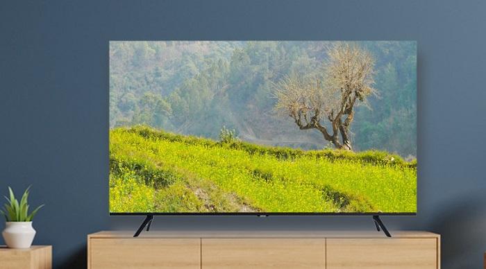 Smart Tivi 4K Samsung 55inch UA55TU8100 chính hãng