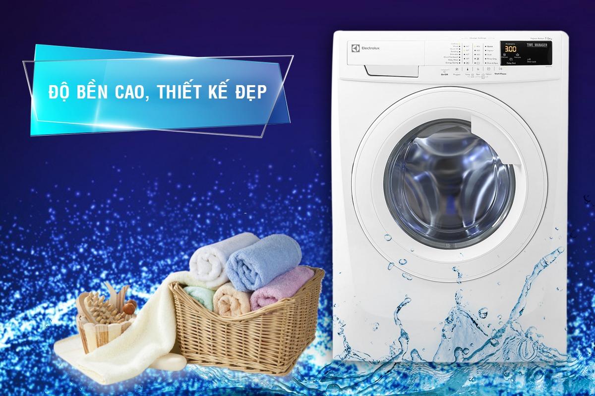 Cách vệ sinh máy giặt cửa ngang Electrolux 7kg cực đơn giản